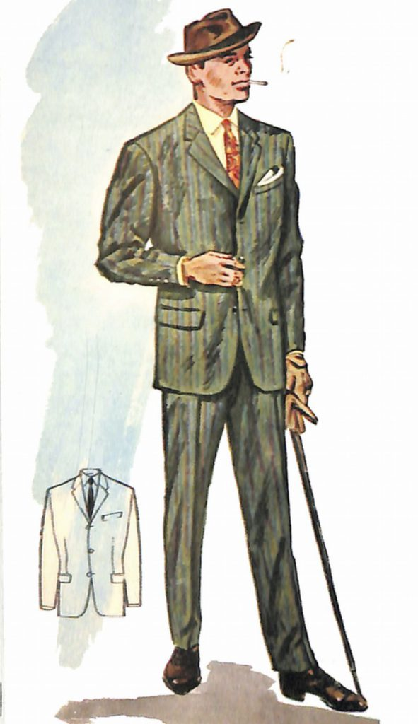 50〜60年代に流行したスーツ・スタイル:'60sニューモデルスーツ(3)