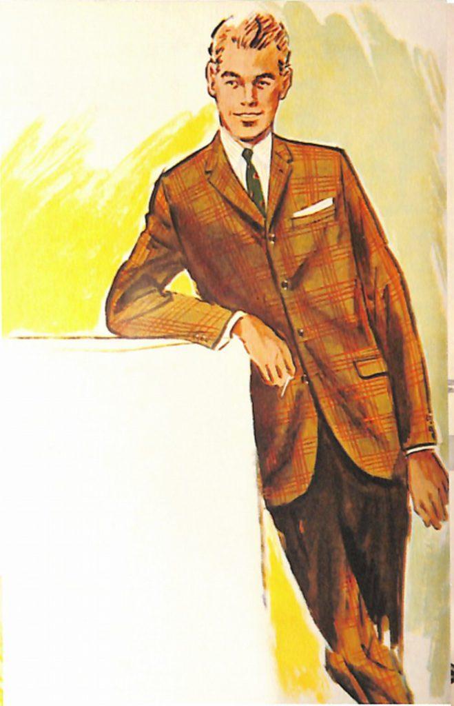 50〜60年代に流行したスーツ・スタイル:20代向けの新しいツインルック・スーツ