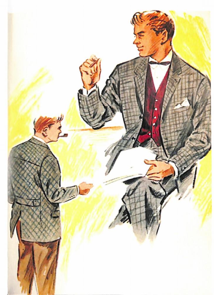 50〜60年代に流行したスーツ・スタイル:TWEN LOOKのスーツ