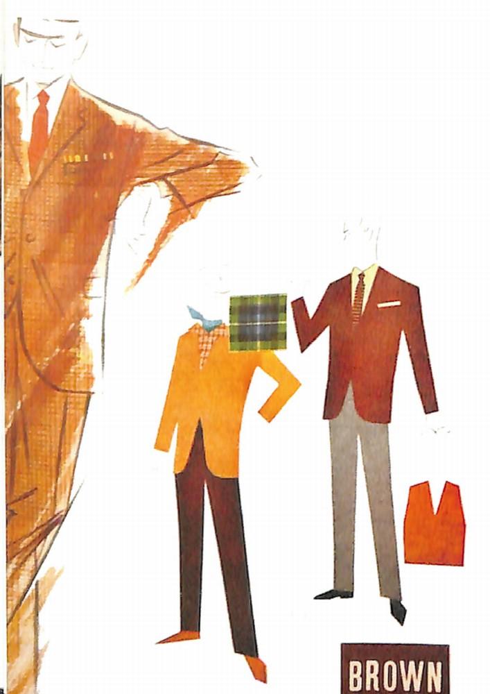50〜60年代に流行した配色スタイル:基本的な配色術<ブラウン>