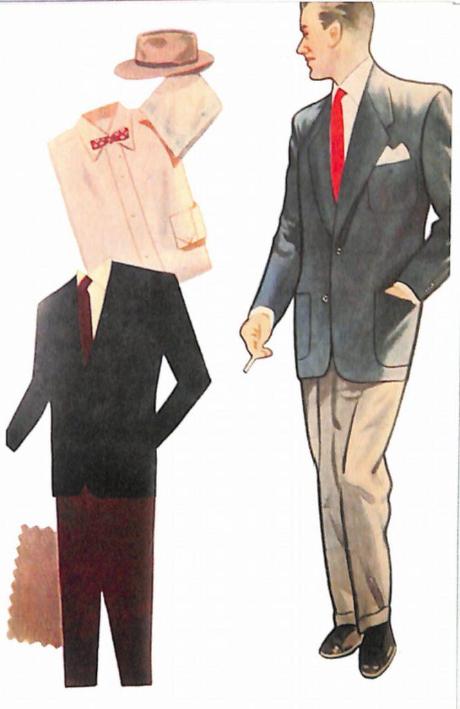 50〜60年代に着こなしスタイル:ジャケットの着こなし
