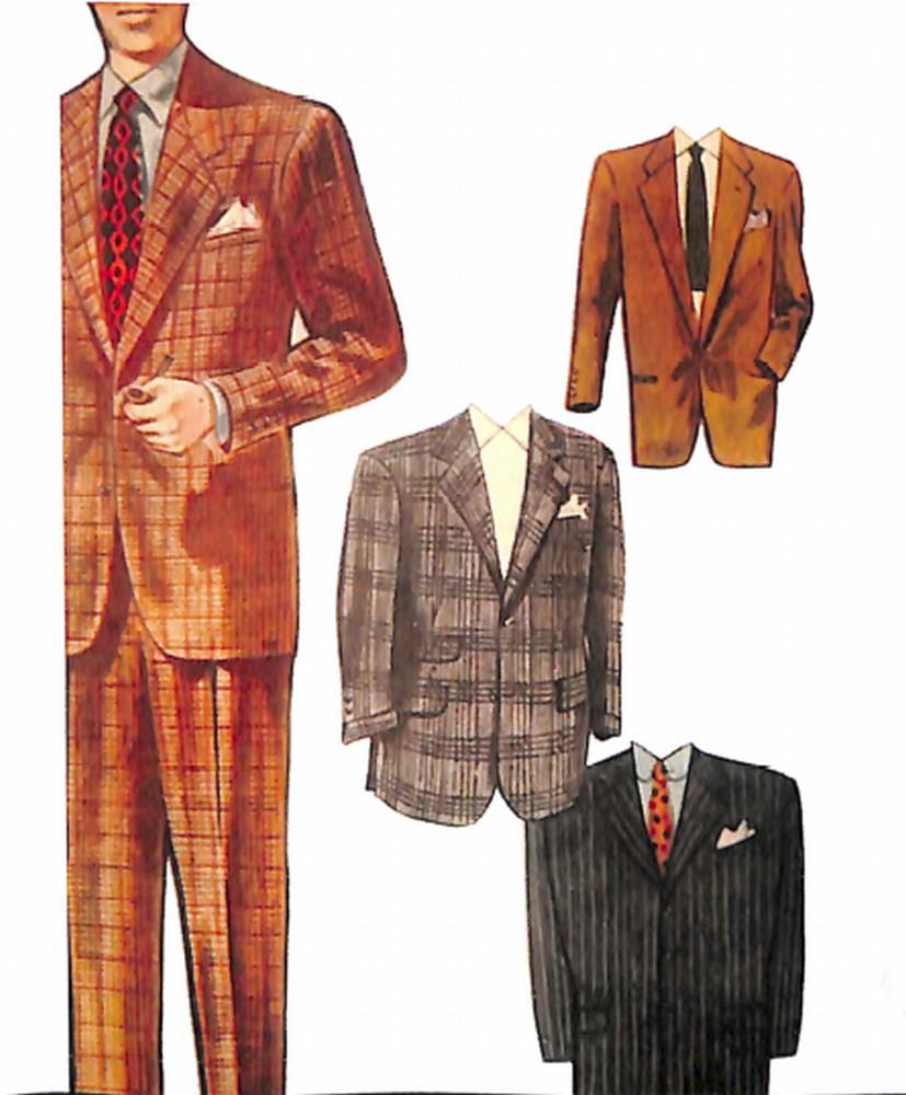 50〜60年代に着こなしスタイル:1952年の流行モデル