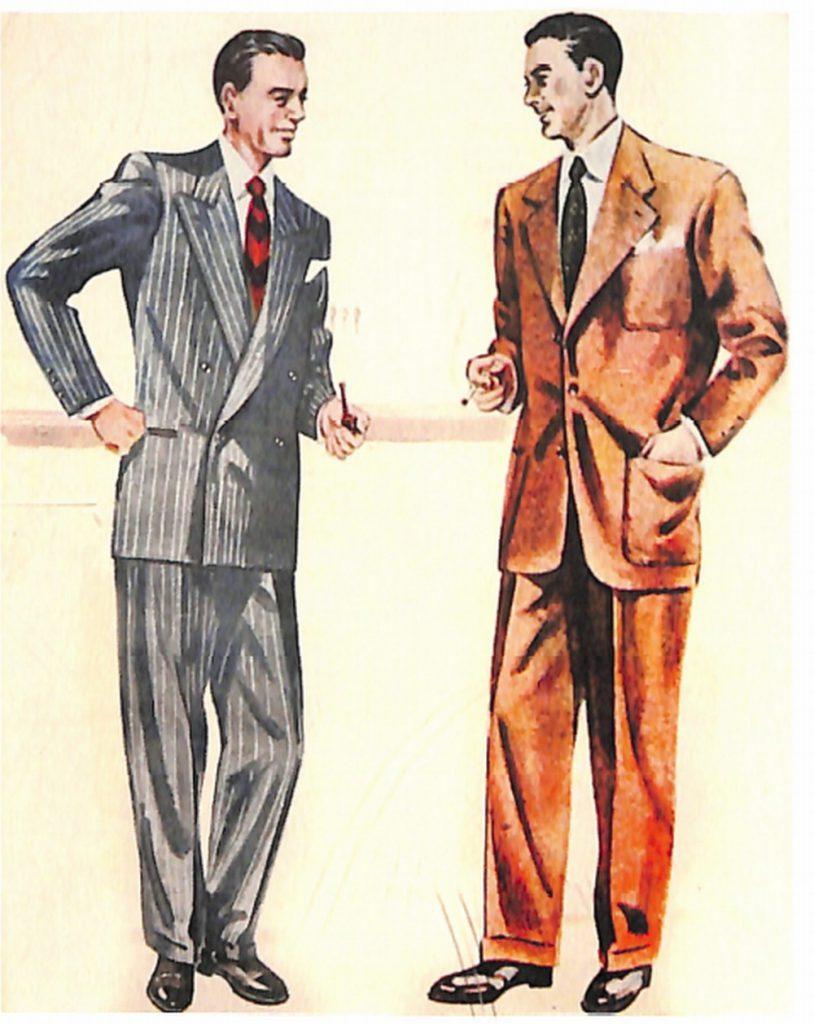 50〜60年代に流行したスーツ・スタイル:51年型らしいスマートなスーツ