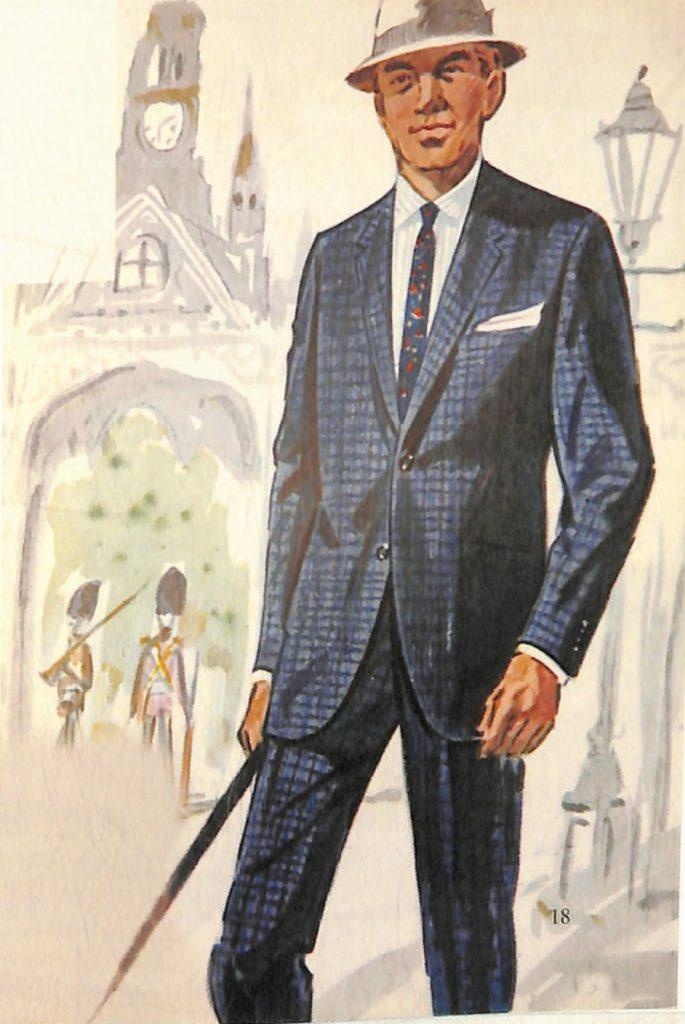 50〜60年代に流行したスーツ・スタイル:ロンドンラインと呼ばれるスーツ