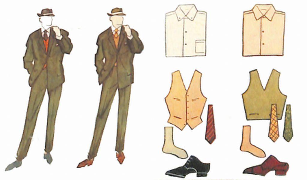 50〜60年代に流行した配色スタイル:グリーンスーツのカラーコーディネート