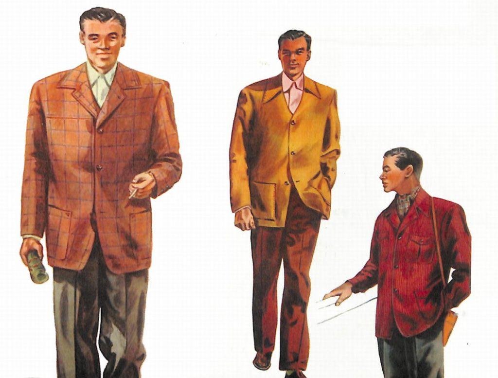 50~60年代に流行したジャケット・スタイル:変化がうかがえるジャケット