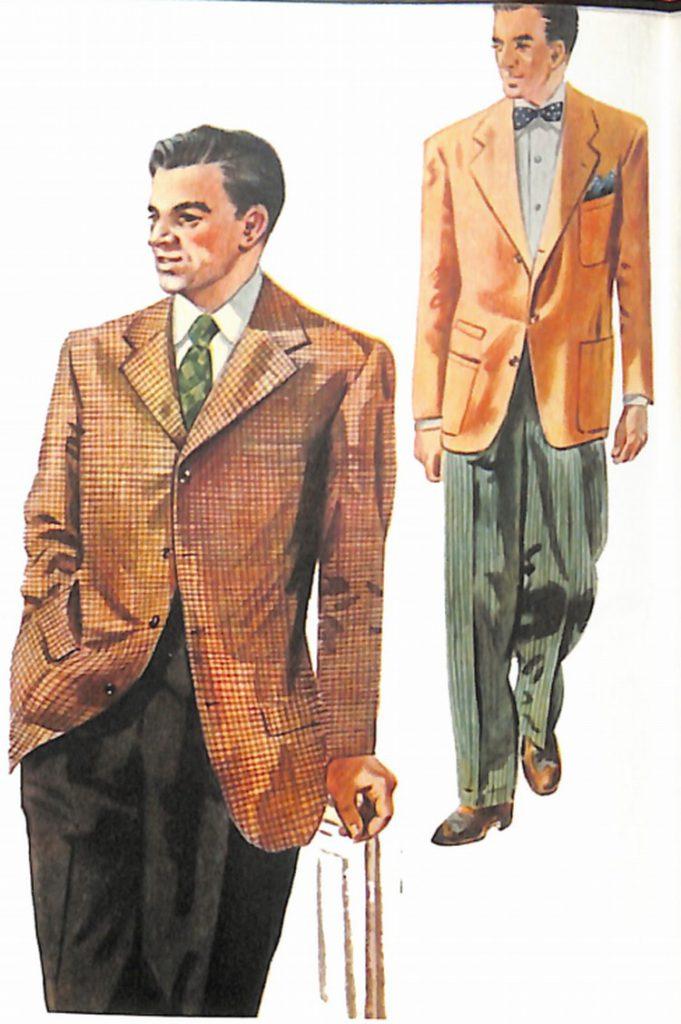 50~60年代に流行したジャケット・スタイル:新感覚のオッドジャケット