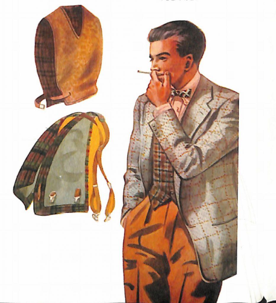 50~60年代に流行したジャケット・スタイル:ファンシーベストの台頭