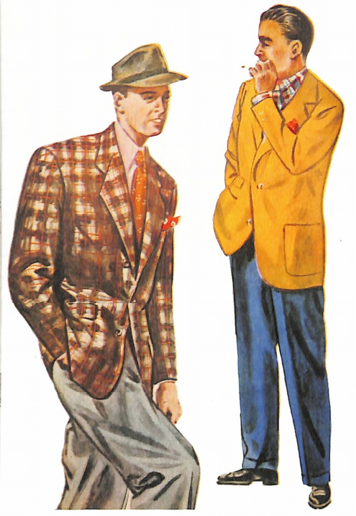 50~60年代に流行したジャケット・スタイル:1951年春から夏のトップスタイル