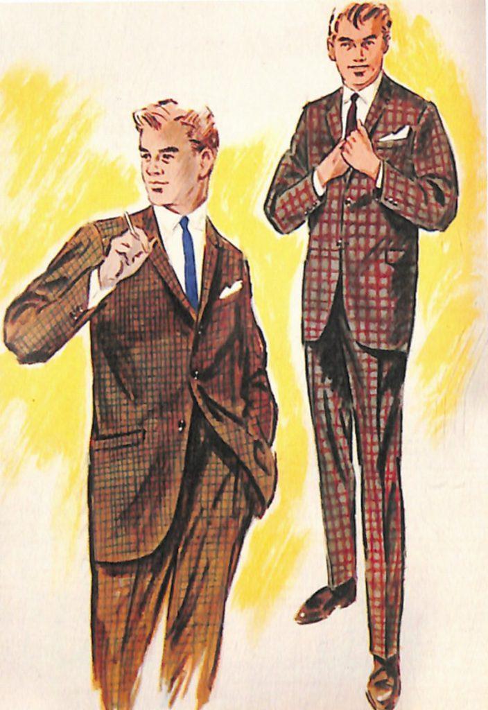 50〜60年代に流行したスーツ・スタイル:20代のスーツ・デザイン