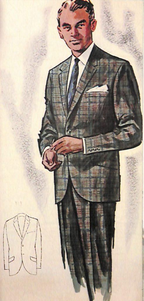 50〜60年代に流行したスーツ・スタイル:ポーラー・ジェットラインのスーツ