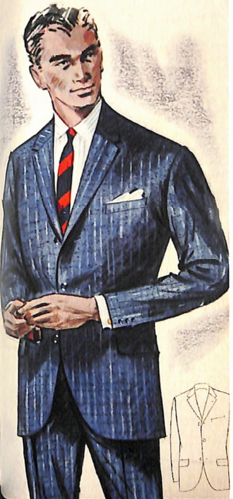 50〜60年代に流行したスーツ・スタイル:ブリテッシュ・ルックのスーツ