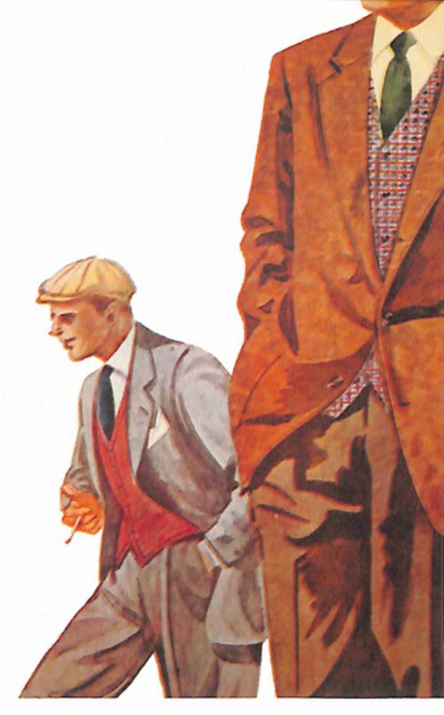 50〜60年代に流行したジャケット・スタイル:変わりチョッキを着るのが流行