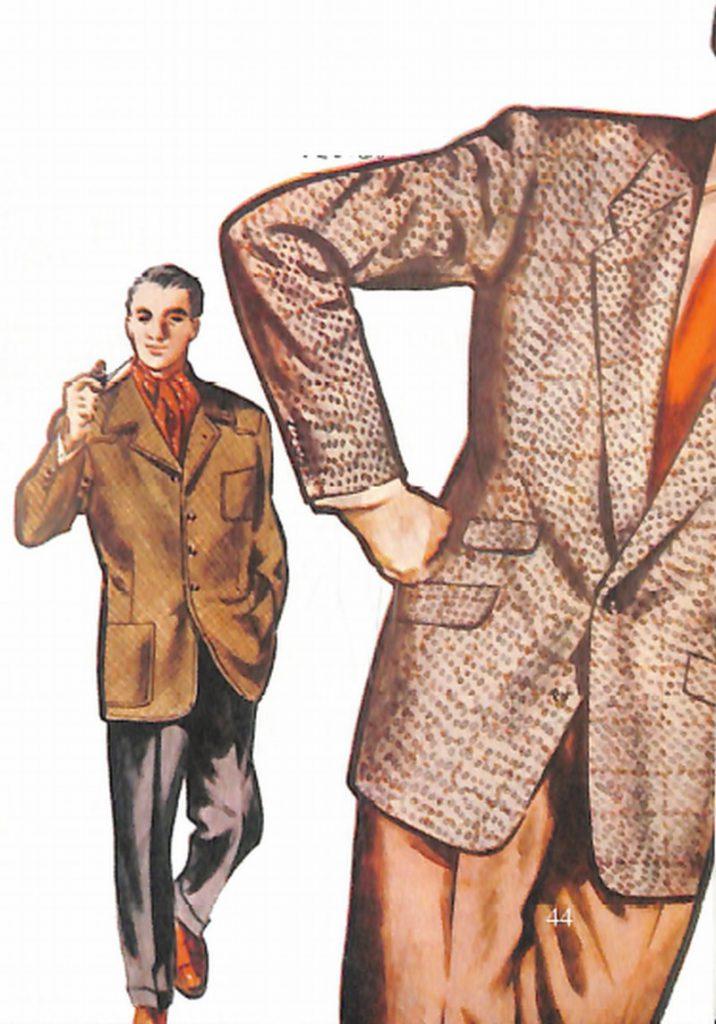 50〜60年代に流行したジャケット・スタイル:新型背広の新デザイン