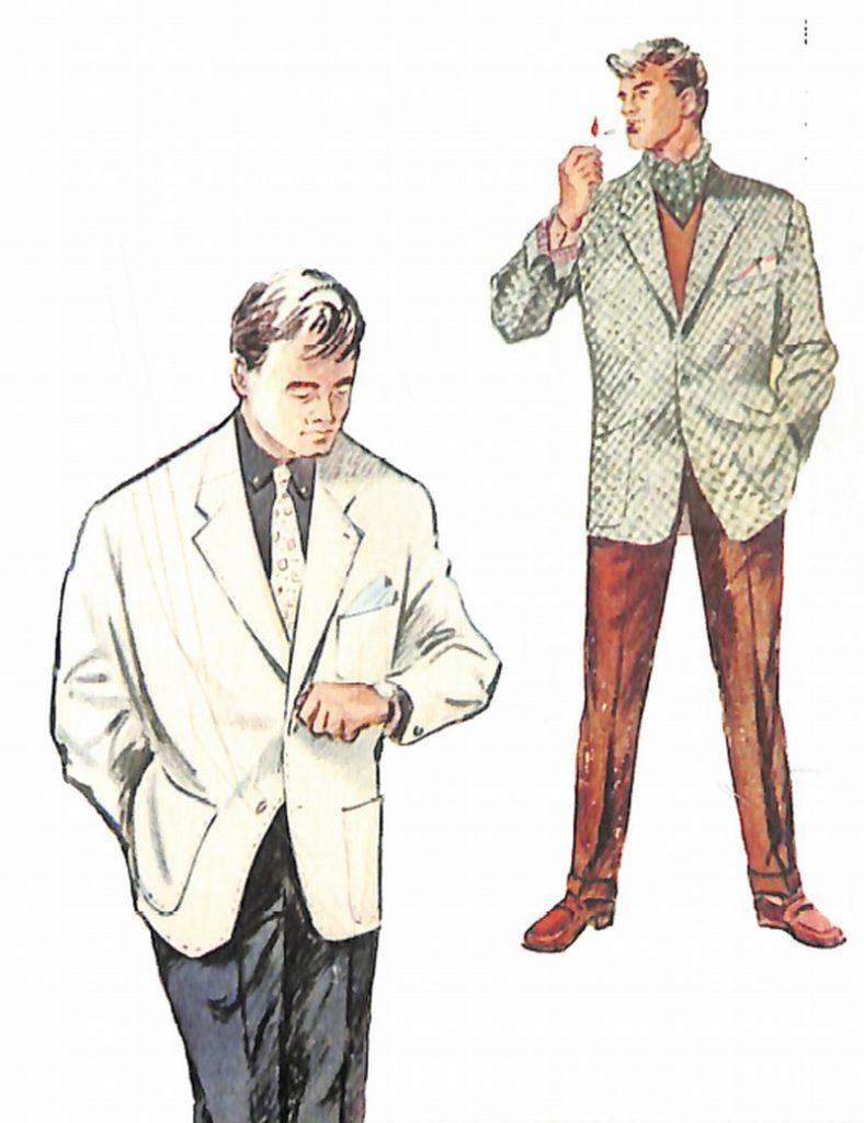 50〜60年代に流行したジャケット・スタイル:セパレーツにおける配色の研究