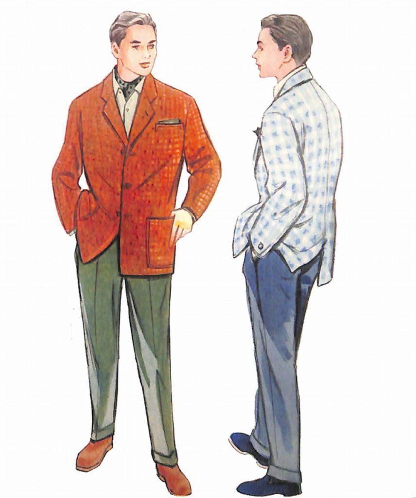 50〜60年代に流行したジャケット・スタイル:セパレーツ・スタイルの着こなし