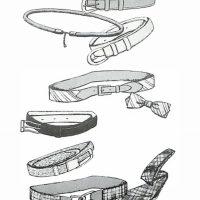 50〜60年代に流行したアクセサリー・スタイル:春着にふさわしいベルト