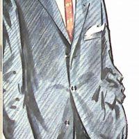 50〜60年代に流行したスーツ・スタイル:シンプルな3ボタンスーツ