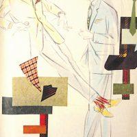 50〜60年代に流行したスーツ・スタイル:ショッキング・カラーとの組み合わせ