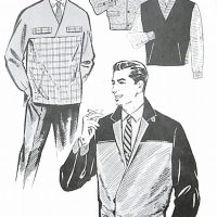 50〜60年代に着こなしスタイル:アダルト向けのビジネスブルゾン