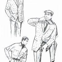 50〜60年代に着こなしスタイル:ツイードジャケットの着こなし
