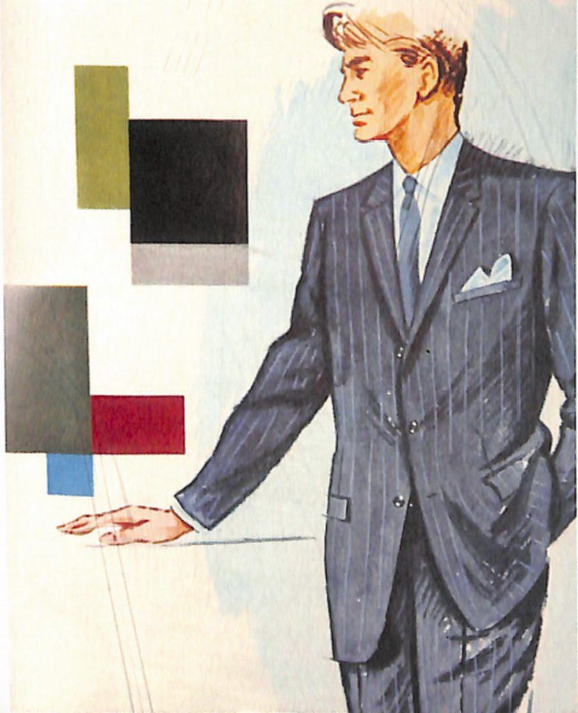 50〜60年代に流行したスーツ・スタイル:シックなシングルスーツ