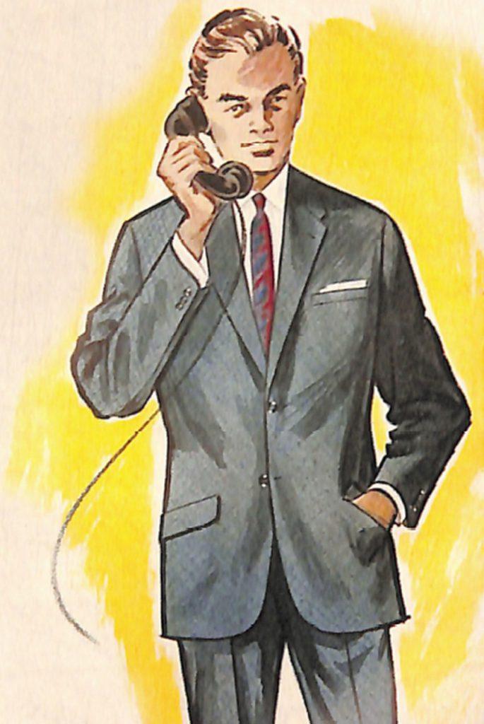 50〜60年代に流行したスーツ・スタイル:62年のトップスタイル