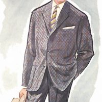 50〜60年代に流行したスーツ・イタリアン・コンチネンタル・スーツ
