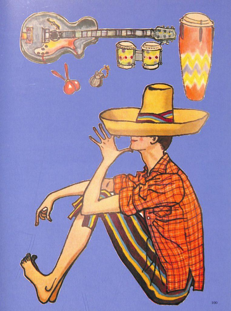 50〜60年代に流行したニット&シャツ・スタイル