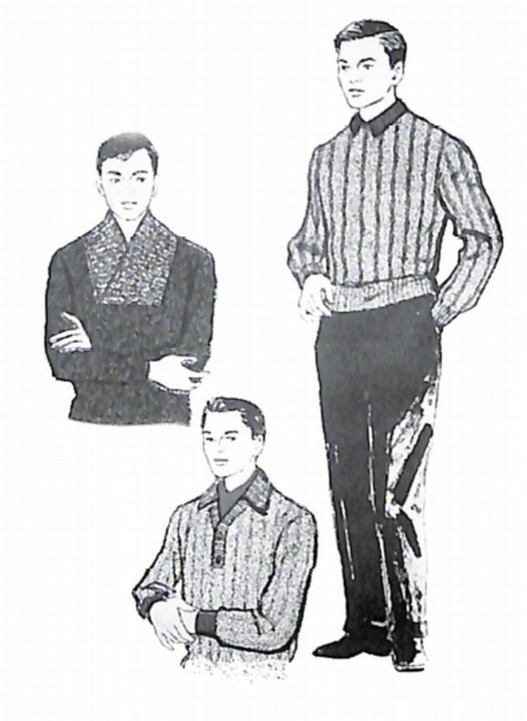 50〜60年代に流行したニット&シャツ・スタイル:セーター・アラカルト