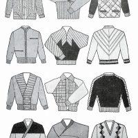 50〜60年代に流行したニット&シャツ・スタイル:新しい秋のセーター