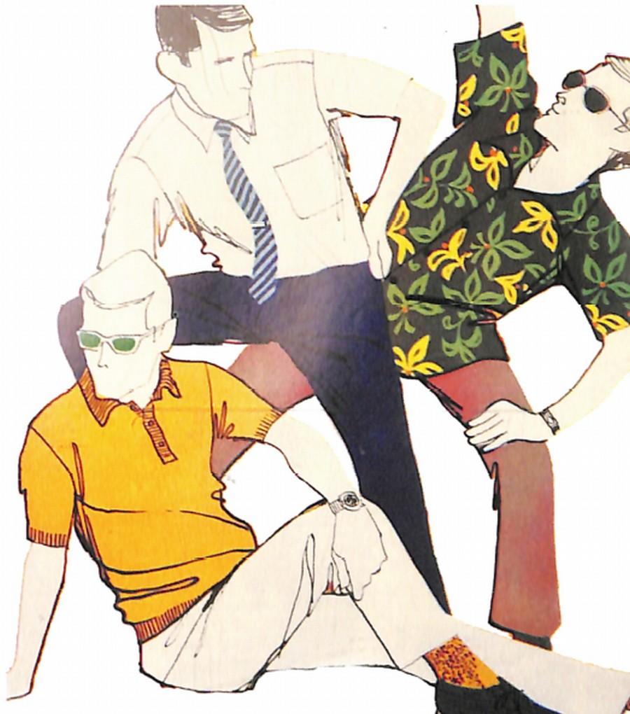 50〜60年代に流行したニット&シャツ・スタイル:67年夏のシャツ・アラモード