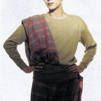 エスニックなイメージが強い:東京ファション(DANSEN EX Nunber 4)・・・1987年 spring/summer
