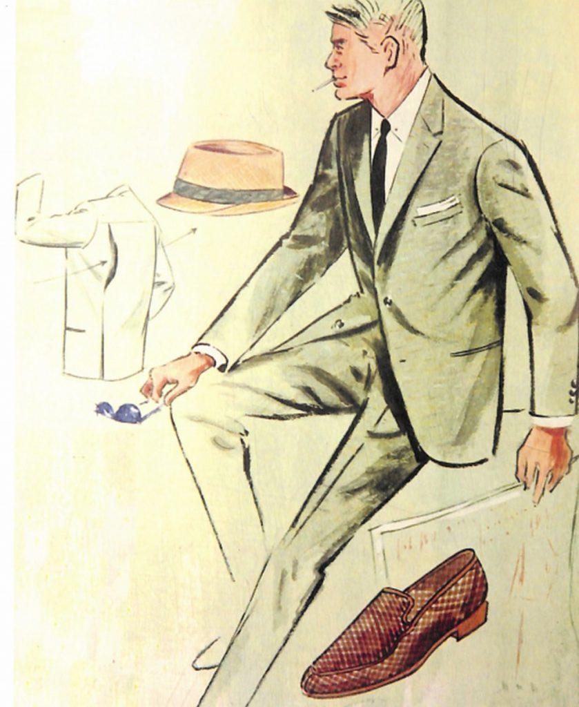 50〜60年代に流行したスーツ・スタイル:エアコンディショニング・ルックのスーツ