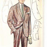 50〜60年代に流行したスーツ・スタイル:シングルスーツのバリエーション