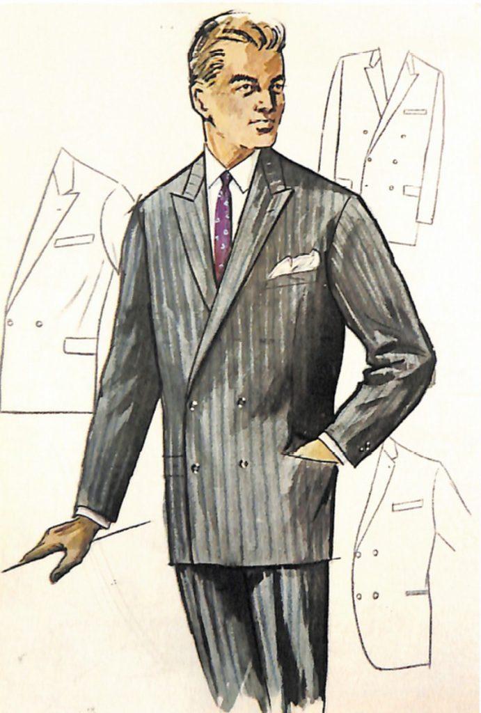 50〜60年代に流行したスーツ・スタイル:ダブルスーツの復活