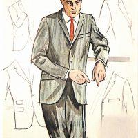50〜60年代に流行したスーツ・スタイル:3ボタンスーツのバリエーション