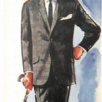 50〜60年代に流行したスーツ・スタイル:タイトなブリティッシュモデル
