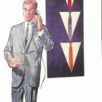 50〜60年代に流行した配色スタイル:Vゾーン配色