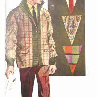 50〜60年代に流行した配色スタイル:カジュアルウエアのVゾーン
