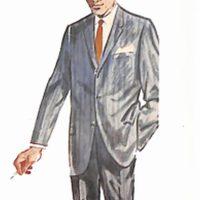 50〜60年代に流行した配色スタイル:ブルー系のカラーコーディネート