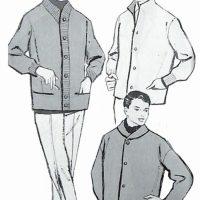 50〜60年代に流行したニット&シャツ・スタイル:カーディガン・スタイル3種