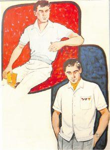 50〜60年代に流行したニット&シャツ・スタイル:59年夏のカジュアルシャツ