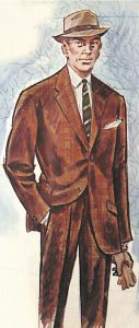 50〜60年代に流行したスーツ・スタイル:IOCラインのニュースーツ