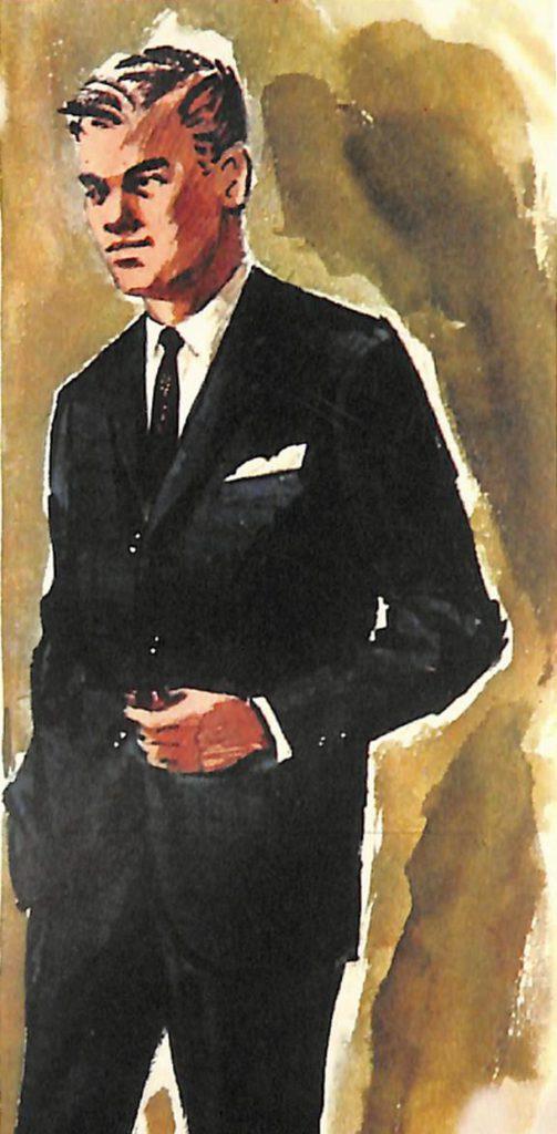 50〜60年代に流行したスーツ・スタイル:トランス・アメリカン型のスーツ