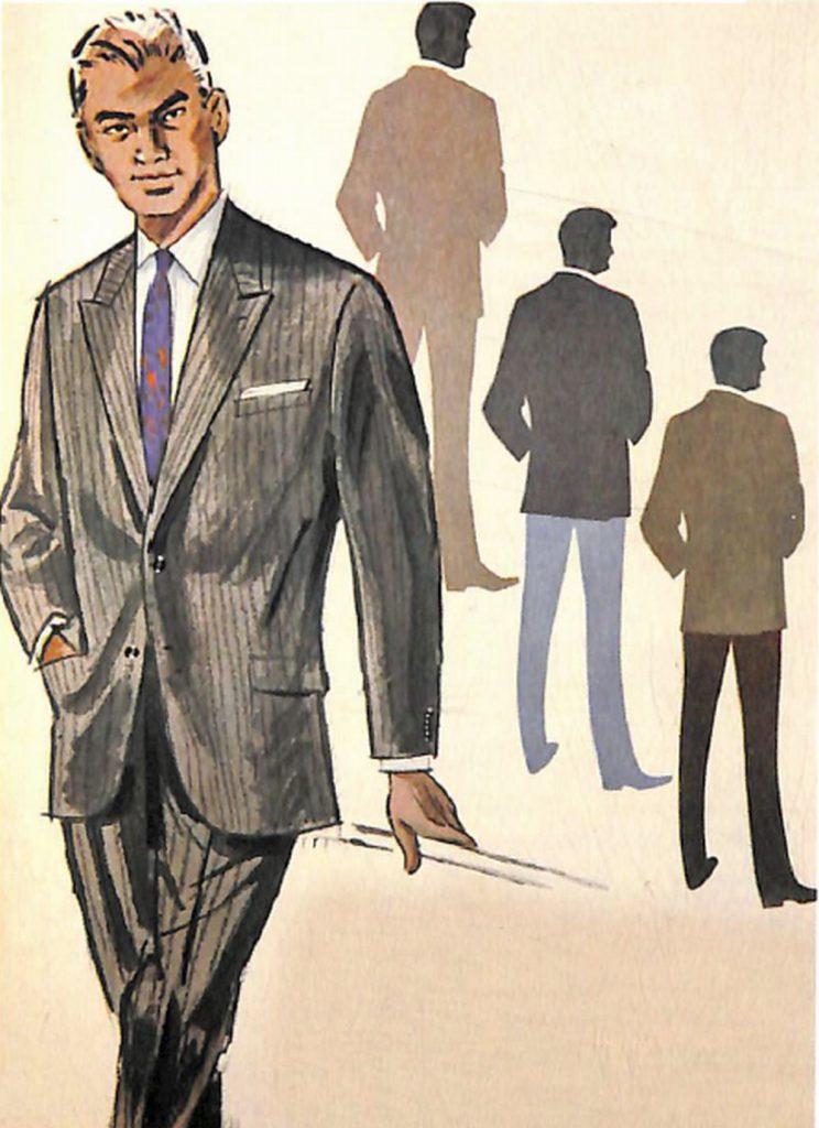 50〜60年代に流行したスーツ・スタイル:63年春の流行色スーツ