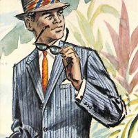 50〜60年代に流行したスーツ・スタイル:63年夏のストライプド・スーツ