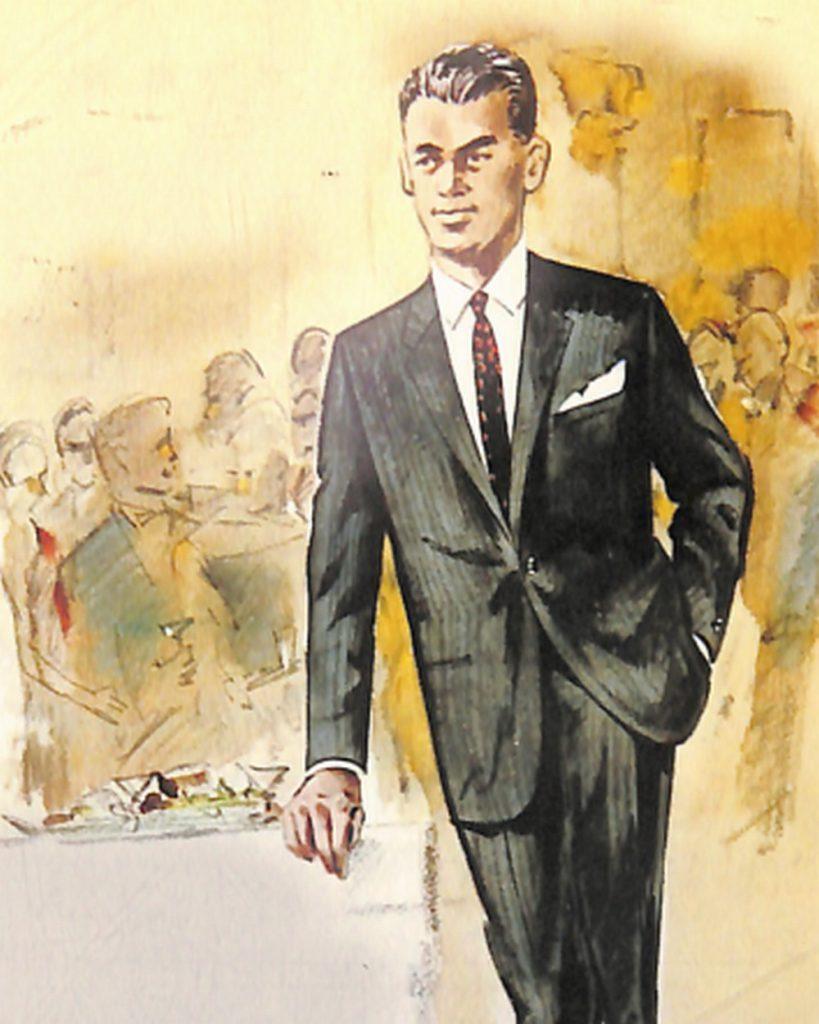 50〜60年代に流行したスーツ・スタイル:ついに登場したコンポラ・スーツ!