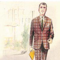 50〜60年代に流行したスーツ・スタイル:BMラインのシングルスーツ