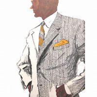 50〜60年代に流行したスーツ・スタイル:ヘリンボーン柄のスーツ